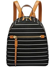 Striped Megan Backpack