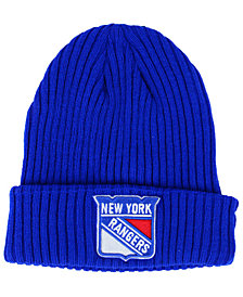 Authentic NHL Headwear New York Rangers Fan Basic Cuff Knit Hat