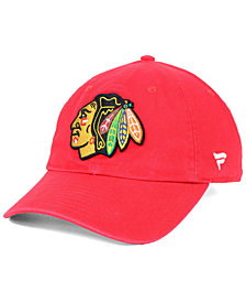 Authentic NHL Headwear Chicago Blackhawks Fan Relaxed Adjustable Strapback Cap