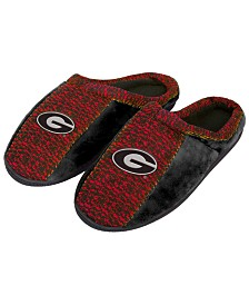 Forever Collectibles Georgia Bulldogs Knit Cup Sole Slippers