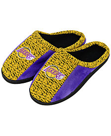 Forever Collectibles Los Angeles Lakers Knit Cup Sole Slippers