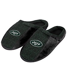 Forever Collectibles New York Jets Knit Cup Sole Slippers