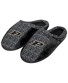 Forever Collectibles Purdue Boilermakers Knit Cup Sole Slippers
