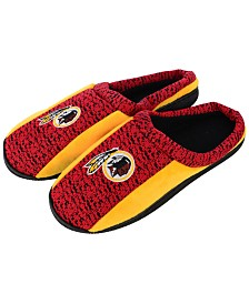 Forever Collectibles Washington Redskins Knit Cup Sole Slippers