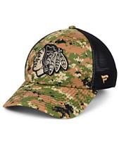 81affac8840 Authentic NHL Headwear Chicago Blackhawks Military Appreciation Speed Flex  Stretch Fitted Cap