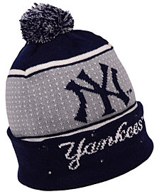 Forever Collectibles New York Yankees Big Logo Light Up Knit Hat