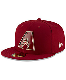 New Era Arizona Diamondbacks Metal & Thread 59FIFTY-FITTED Cap