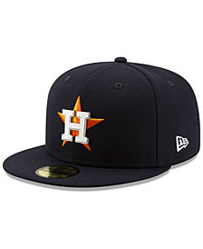 New Era Houston Astros Metal & Thread 59FIFTY-FITTED Cap