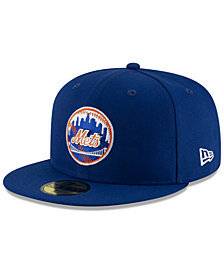 New Era New York Mets Metal & Thread 59FIFTY-FITTED Cap