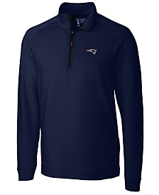Cutter & Buck Men's New England Patriots Jackson Half-Zip Pullover