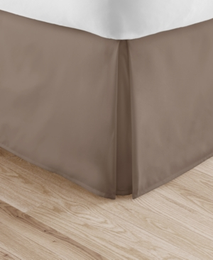 Brilliant Bedskirts by The Home Collection, Twin Bedding