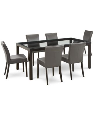 Tate Dining Furniture, 7-Pc. Set (Table & 6 Side Chairs)