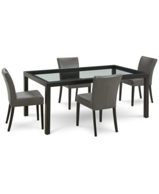 Tate Dining Furniture, 5-Pc. Set (Table & 4 Side Chairs)
