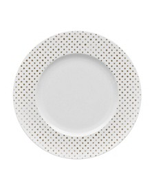 Hammock Rim  Salad Plate - Dots, Created for Macy's