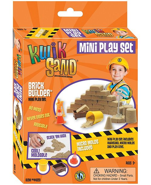 Be Good Company KwikSand Mini Play Set - Brick Builder