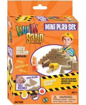 KwikSand Mini Play Set - Brick Builder