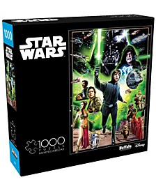 Star Wars Vintage Art - I Am a Jedi, Like My Father Before Me- 1000 Pcs Puzzle
