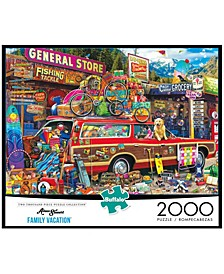 Aimee Stewart - Family Vacation- 2000 Pcs Puzzle