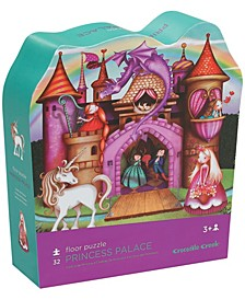 Princess Palace Shaped Floor Puzzle- 32 Piece