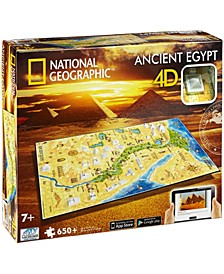 4D Cityscape Time Puzzle - National Geographic - Ancient Egypt- 650 Pieces