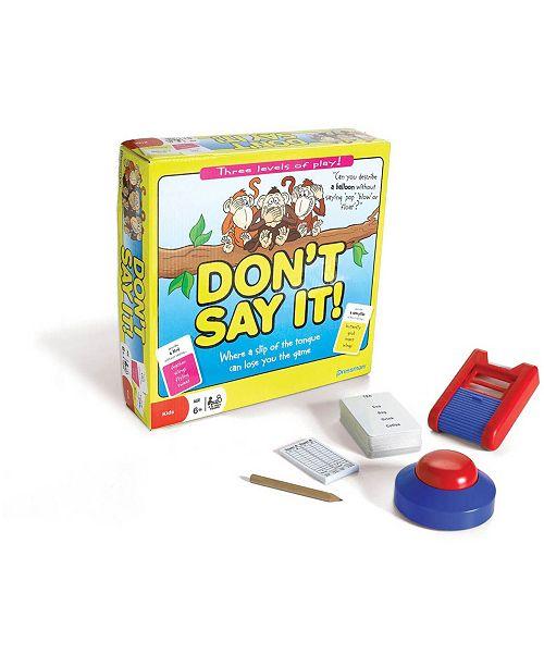 Pressman Toy Don't Say It!