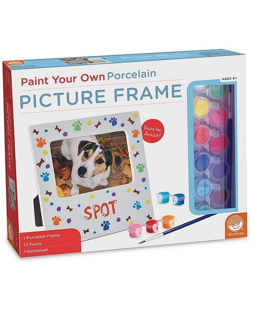 MindWare Paint Your Own Porcelain Picture Frame