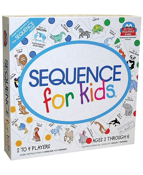 Jax Ltd. Sequence For Kids Board Game