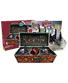 Harry Potter - Quidditch Set Double-Sided Shaped Jigsaw Puzzle - 600 Piece