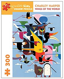 Charley Harper - Wings of the World Puzzle- 300 Pcs
