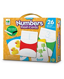 Write and Erase Numbers Flash Cards