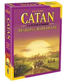 Catan- Traders and Barbarians 5-6 Player Expansion