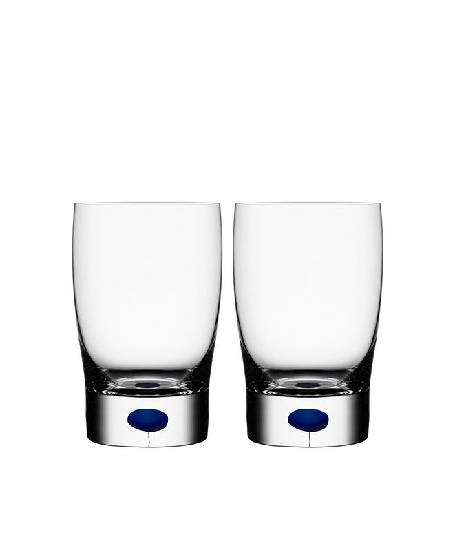 Home Styles Orrefors Intermezzo Blue Small Tumbler/Juice Pair