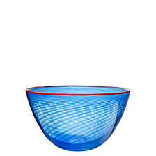 Kosta Boda Red Rim Small Bowl