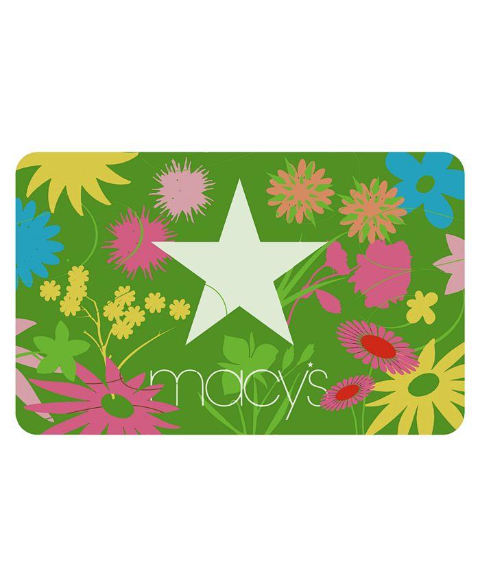 Macy's - Macys Star Flowers E-Gift Card