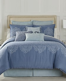 Eva Longoria Black Label Lacework Bedding Collection