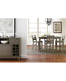 Vogue Dining 5-Pc. Set (Table & 4 Counter Stools)