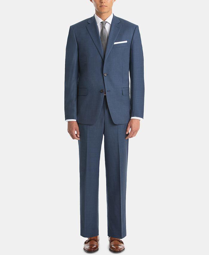 Lauren Ralph Lauren - Men's UltraFlex Classic-Fit Sharkskin Wool Suit Separates