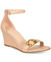175a18f9aab COACH Odetta Wedge Sandals