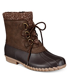 Fabulous Water Resistant Women's Duck Boot