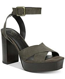 Franco Sarto Marta Platform Block-Heel Sandals