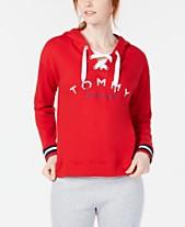 a0c1426b42 Tommy Hilfiger Sport Lace-Up Logo Hoodie