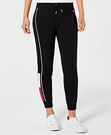 Tommy Hilfiger Sport Logo French Terry Jogger Pants