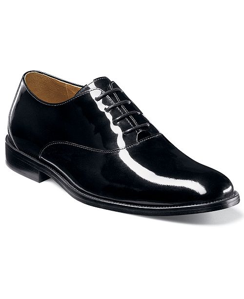 Florsheim Kingston Tuxedo Oxford (Black Patent Leather) Mens Dress Flat Shoes Free Shipping Release Dates Real Clearance Clearance Store Low Shipping Sale Online lZpazC