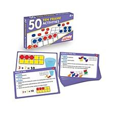 50 Ten Frame Activities Learning Set