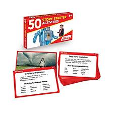 Junior Learning 50 Story Starter Activities Learning Set