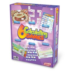 Junior Learning Calculating Games Set of 6 Different Games