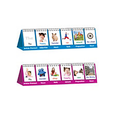 Junior Learning Parts of Speech Flip Cards Educational Learning Set