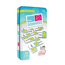 Time Dominoes Match and Learn Educational Learning Game