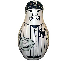 Fremont Die MLB New York Yankees Bop Bag Inflatable Punching Bag