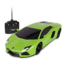 Luxe 1 is to 18 Scale Radio Controlled Lamborghini Aventador Coupe RC Colors Vary Orange Green